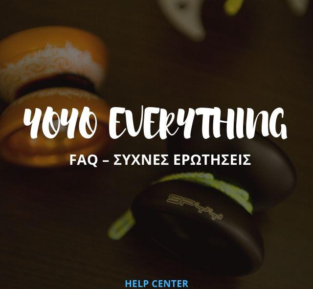 YoYo FAQ